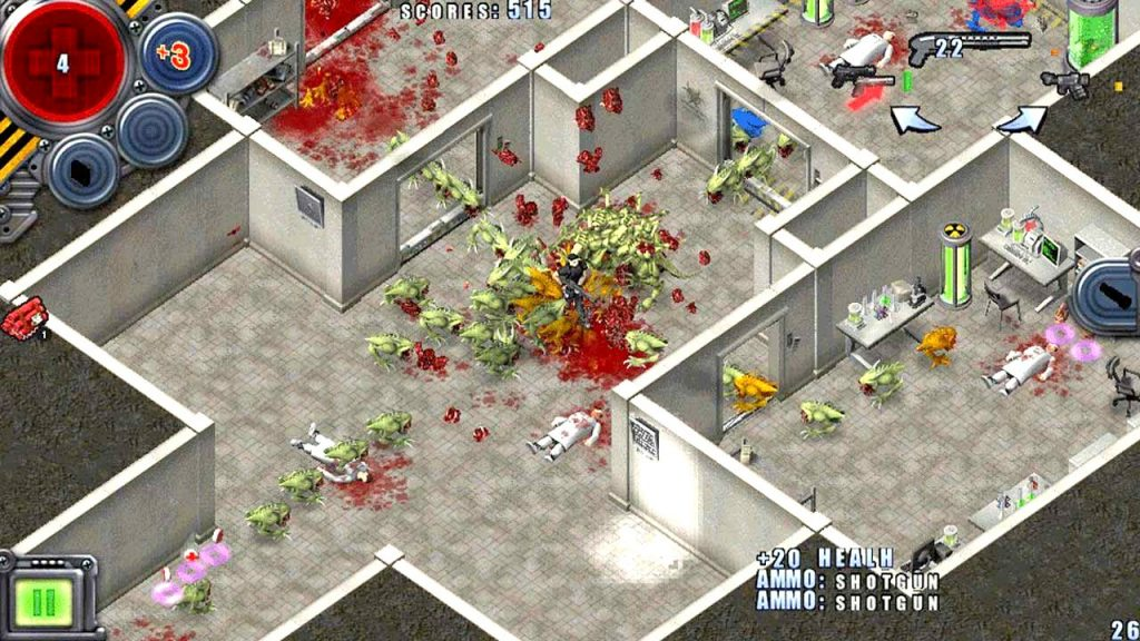 Alien Shooter PC Game Free Download,