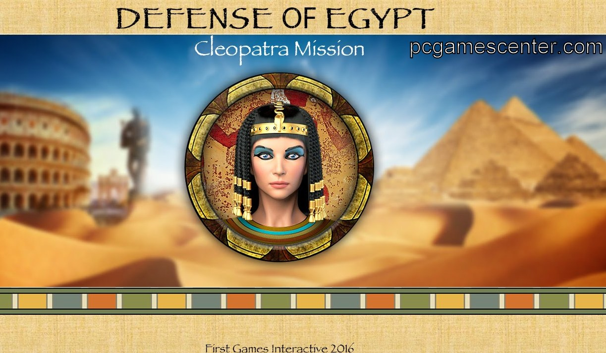 Defense of Egypt Cleopatra Mission Pc Game Free Download