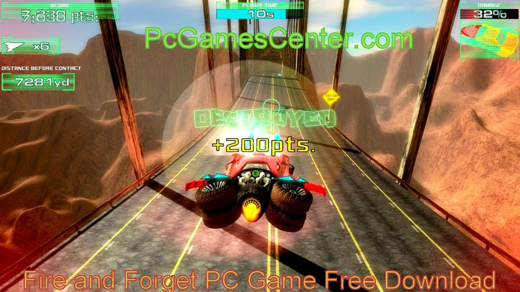 Fire and Forget PC Game Free Download