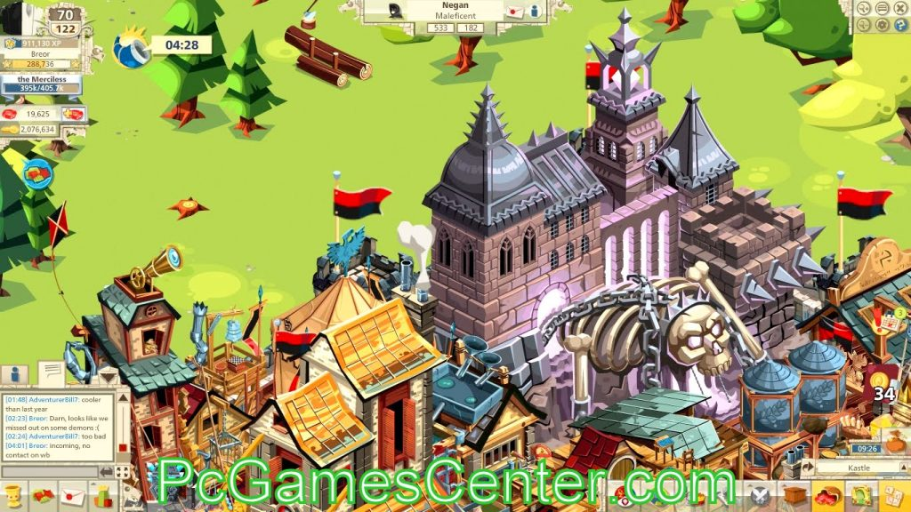 Goodgame Empire 2 PC Game Free Download [ Hacked ].,