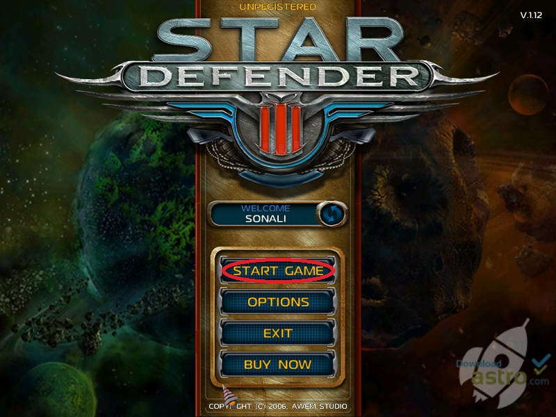 Star Defender 3 PC Game Free Download