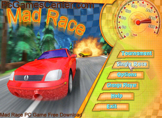 Mad Race PC Game Free Download