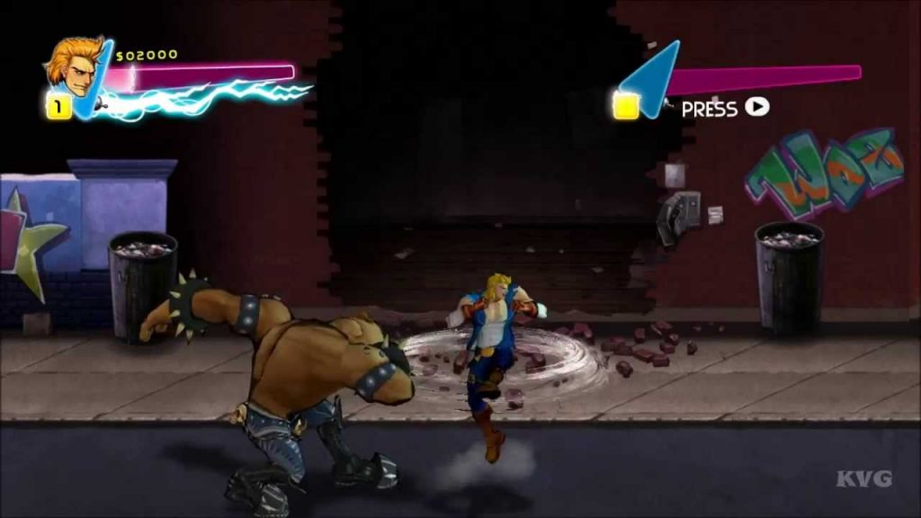 DOUBLE DRAGON PC Game Free Download
