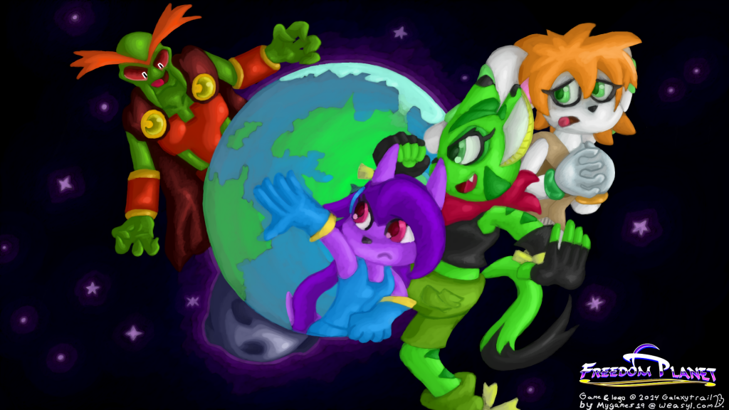 Freedom Planet PC + Mac + Linux Game Free Download
