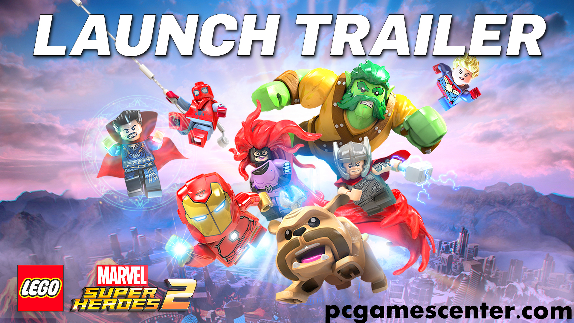 Lego Marvel Super Heroes PC + Mac OS X Game Free Download