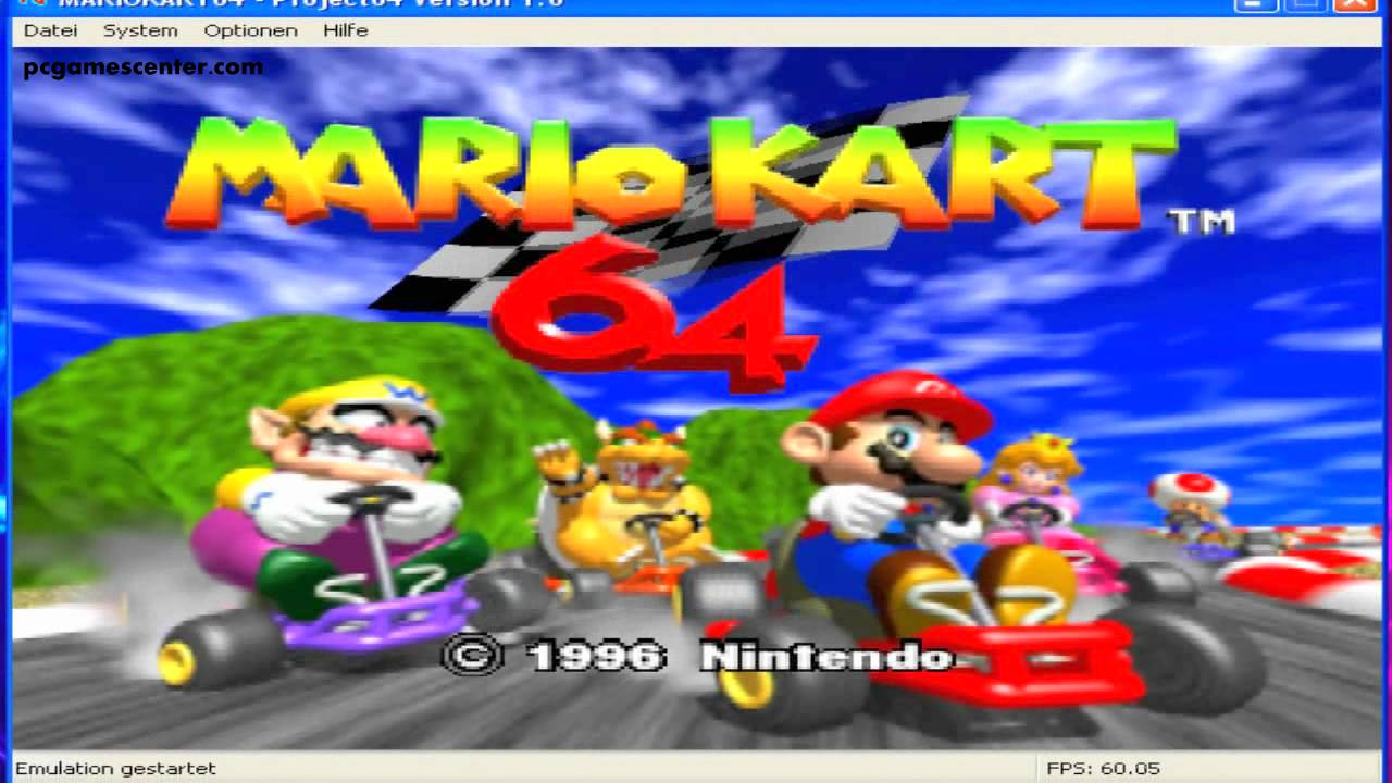 Mario Kart 64 PC Game Free Download