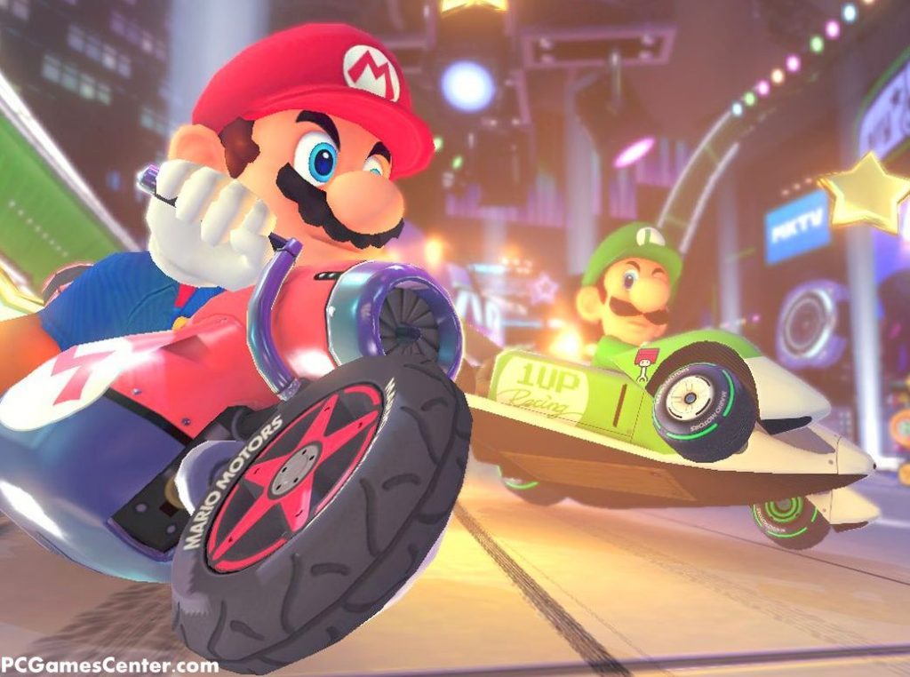 Mario Kart 8 Deluxe PC Game Free Download