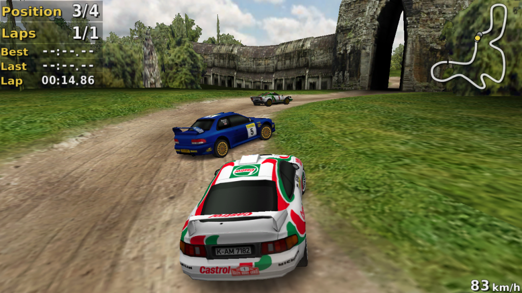 Rally Racers Game for PC Windows Free Download.