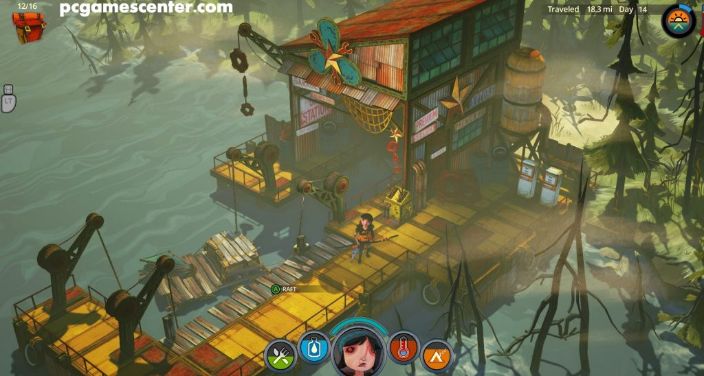 The Flame in the Flood Pc Game Free Download