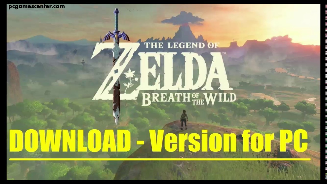 The Legend of Zelda Breath of the Wild Pc Game Free Download.