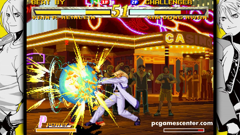 Garou Mark Of The Wolves PC Game Setup Free Download