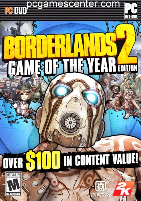 Borderlands 2 PC Game Free Download PC GOTY Edition