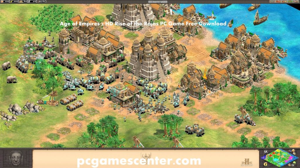 Age of Empires 2 HD Rise of the Rajas PC Game Free Download.,.