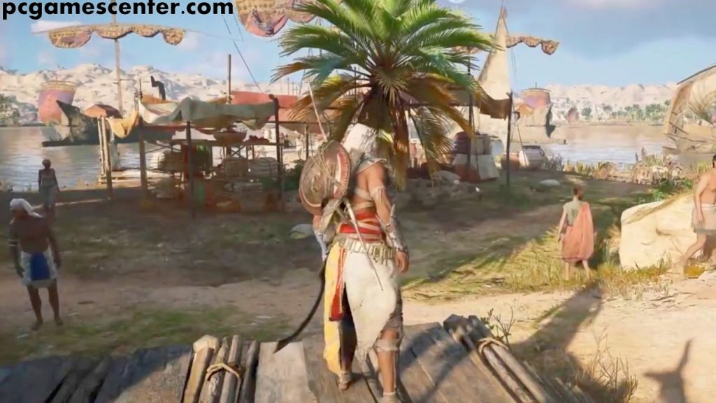 Assassins Creed Origins With all DLC updates Free Download PC Game setup..