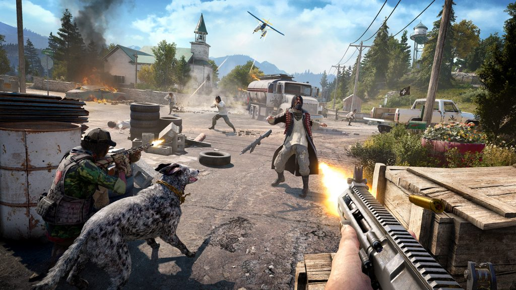 Far Cry 5 PC Game Full Version Free Download..