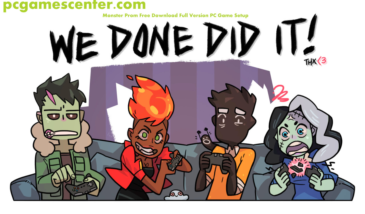 Monster Prom Free Download Full Version PC Game Setup..