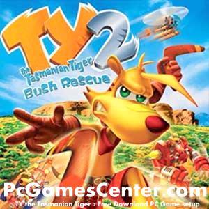 TY the Tasmanian Tiger 2 Free Download PC Game setup,,,