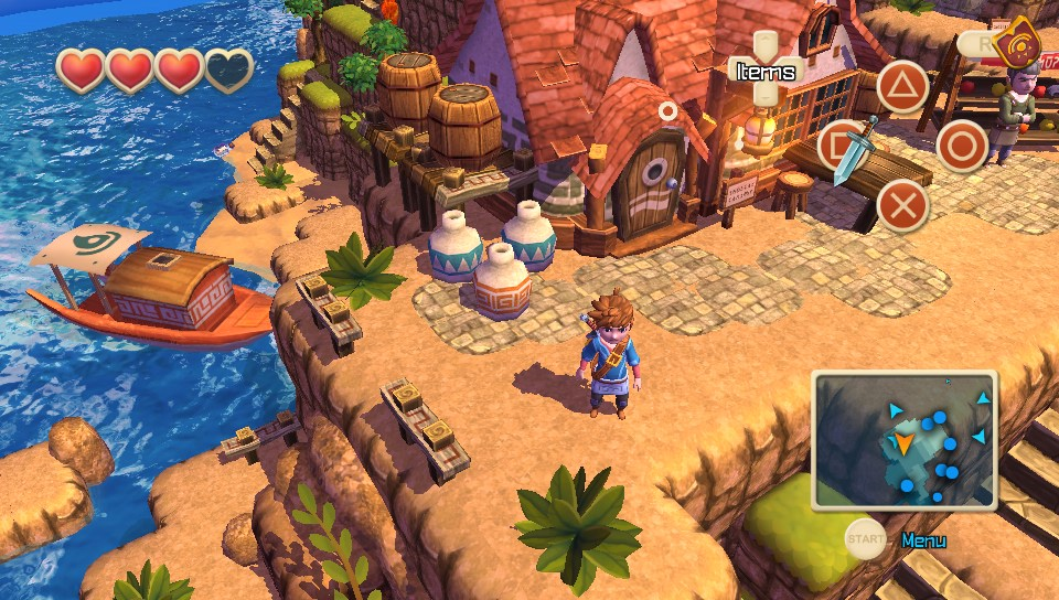 Oceanhorn PC Game Full Version Free Download
