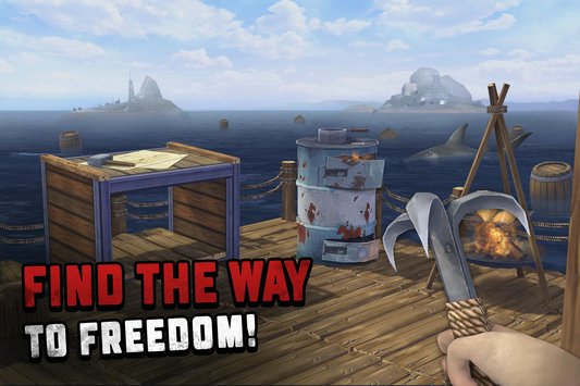 Ocean Nomad: Survival on Raft PC Game Full Version Free Download